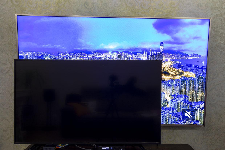 DEXP U75D9000H в сравнении с Hisense H55A6100